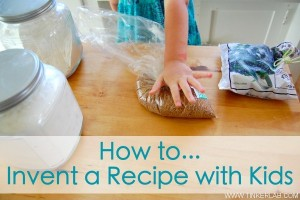 cooking with kids 300x200 Inventing a Kids Recipe  Kids in the Kitchen