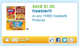 keebler products printable coupon Keebler Products + More Printable Coupons