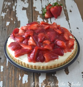tart2 287x300 Strawberry Cream Tart  Sweet Spring Treat