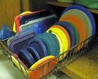 dish drainer Tupperware Organization  Kitchen Inspiration