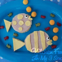 fish shaped lunch