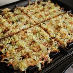 hashbrowns with yellow squash