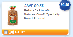 natures own specialty bread printable coupon Natures Own Specialty Bread + More Printable Coupons