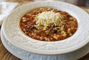 Easy Crock Pot Recipe for Taco Soup 640x435 300x203 Aleas Slow Cooker Taco Soup