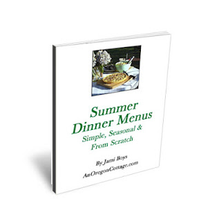 Summer Menu ebook Cover Summer Dinner Menus eBook   Guest Post