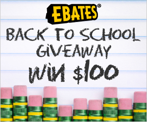 ebates bts giveaway {CLOSED} Ebates $100 Back to School Cash   Giveaway