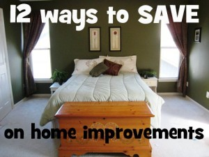 home improvement savings