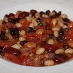 Quick and Easy 4 Bean Chili Recipe