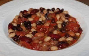 Quick and Easy 4 Bean Chili Recipe