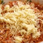 Tricia's Easy Fancy Spaghetti Casserole