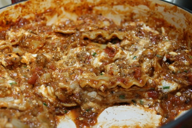 Quick and Easy Skillet Lasagna Recipe