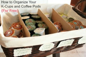 kcups 300x199 Coffee Organization  Kitchen Inspiration
