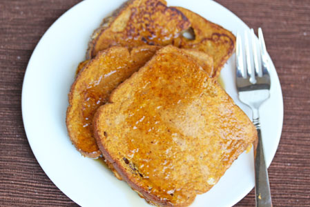 pumpkin pie french toast 5 Free Weekly Meal Plan with Printable Grocery List   10/8