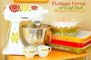 KitchenAid Mixer Decals