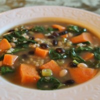 Asian Sweet Potato and Rice Soup Recipe