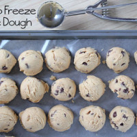 How to Freeze Cookie Dough 200x200 How To & Cooking Tutorials