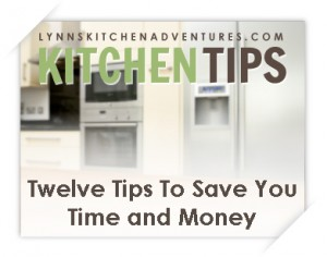 12 kitchen tips