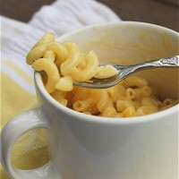 instant maccaroni and cheese