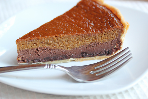 pumpkin-chocolate-cheesecake