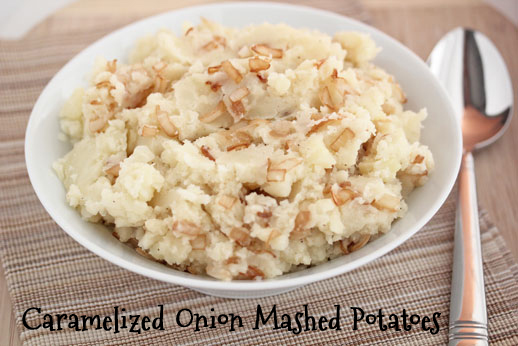 Caramelized-Onions-Mashed Potatoes