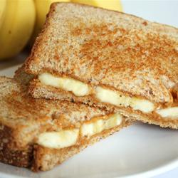 PBBanana Grilled Peanut Butter and Banana Sandwich  Lunchbox Inspiration