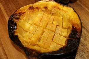 Roasted Acorn Squash 640x427 300x200 Aleas Curried Chicken with Acorn Squash