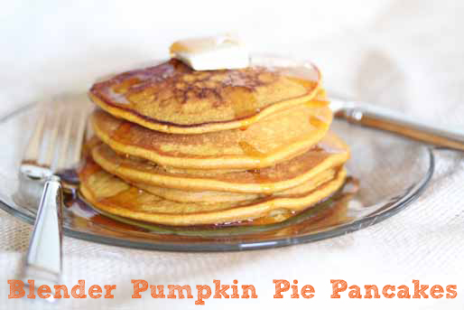 blender pumpkin pancakes blog {CLOSED!} Blender Pumpkin Pie Pancakes {And Blender Giveaway!}