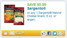 printable coupons sargento cheese Sargento Natural Cheese + More Printable Coupons