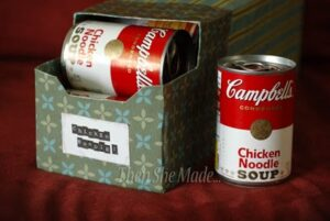 soup can storage
