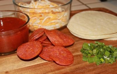 Fast and Easy Pizza Quesadillas Recipe