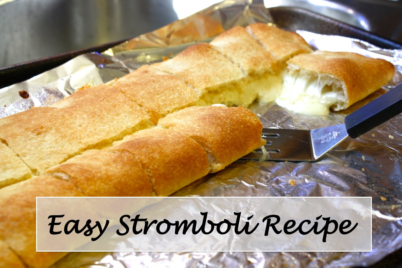 ... stromboli. I sometimes serve a 'leftovers' stromboli with chicken