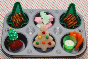 lunch 300x200 Christmas Cookie Cutter Lunch  Lunchbox Inspiration