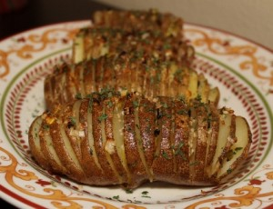 The easiest Hasselback potato recipe