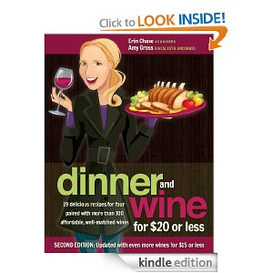 Kindle edition of Dinner and Wine for 20 or Less Free Kindle eBook: Dinner and Wine for $20 or Less