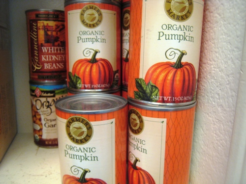 pantry pumpkin Save Money with a Pantry Challenge