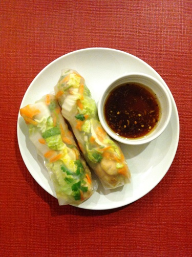 summer rolls Save Money with a Pantry Challenge