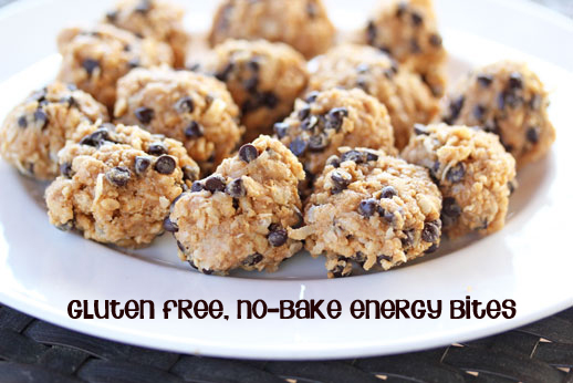 GF No Bake Energy Bites Free Weekly Meal Plan with Printable Grocery List   3/4