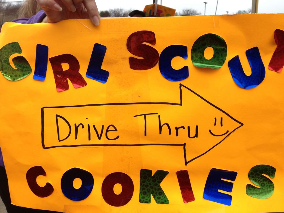girl scout drive thru