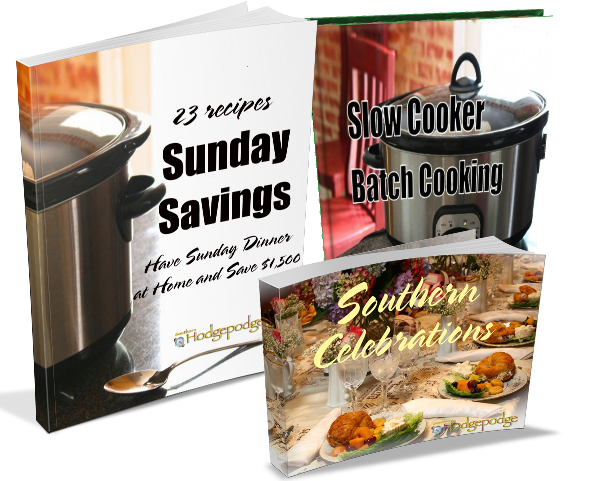 CookbookBundle Southern Hodgepodge Cookbook eBook Bundle