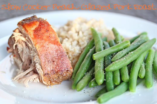 Peach Glazed Pork Roast