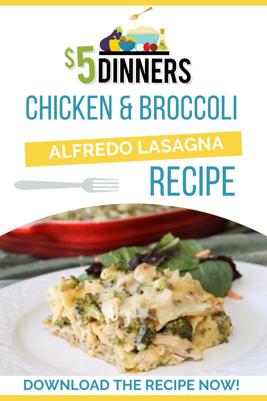 chicken and lasagna alfredo bake