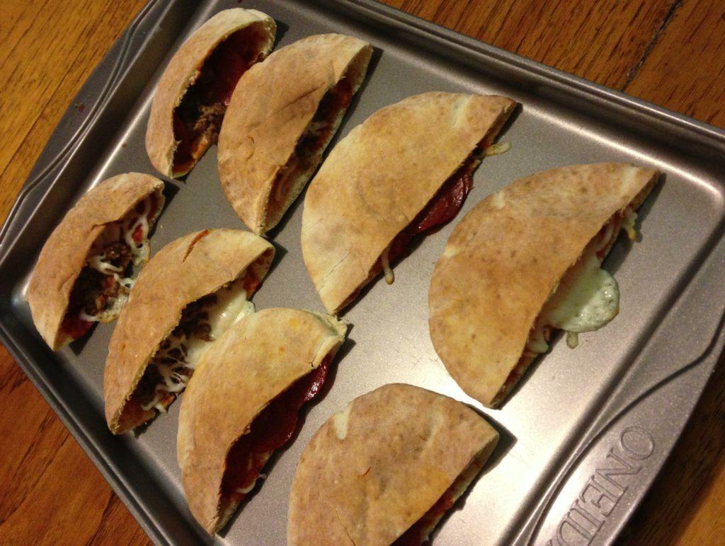 Denise's Pita Pizza Pockets