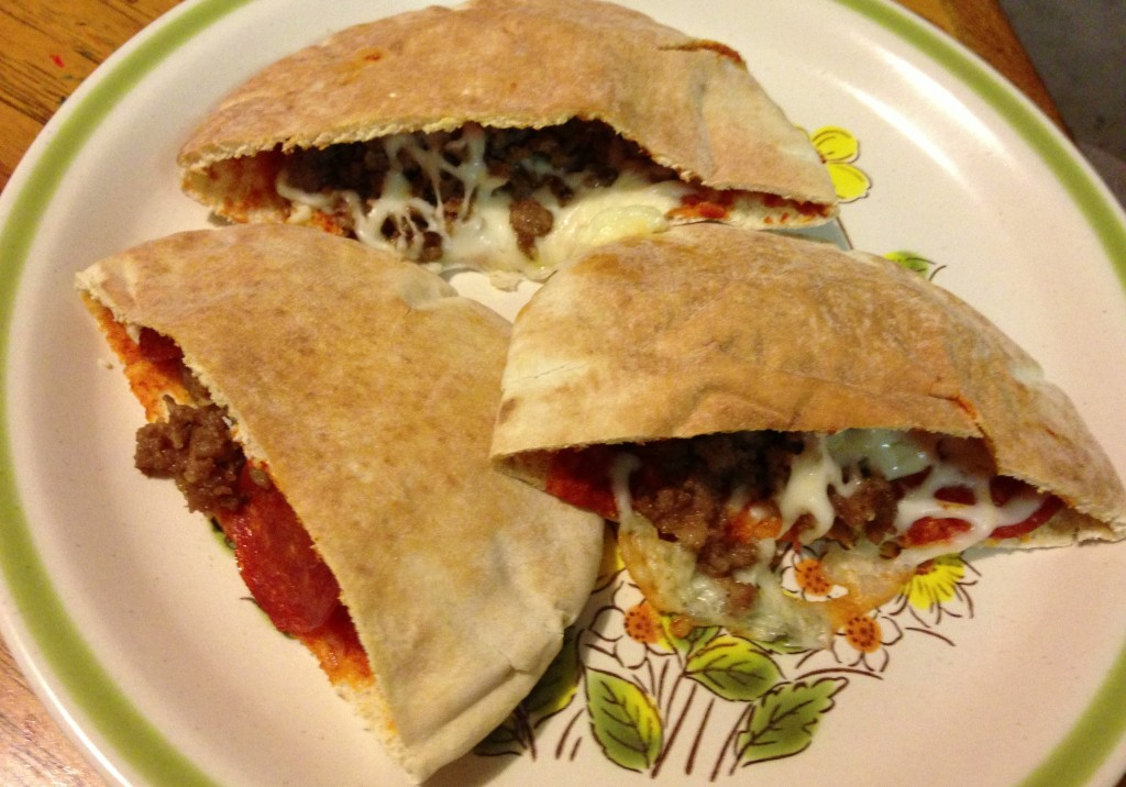 Pita Pizza Pockets