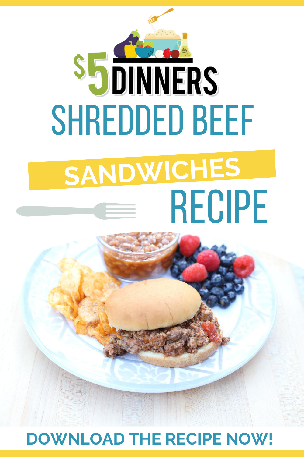 slow cooker shredded beef sandwiches