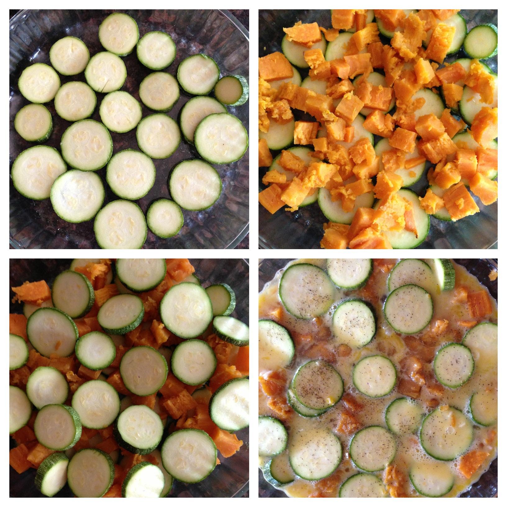 Frittata Sweet Potato Zucchini