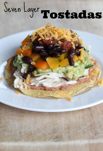 7 Layer Tostadas Seven Layer Tostadas