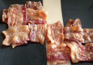 weaved bacon