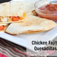 Chicken Fajita Quesdaillas