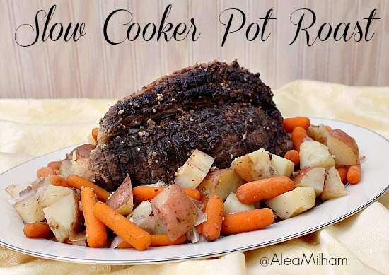 Slow Cooker Pot Roast Recipe