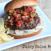 juicy salsa burger